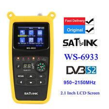 More details for original satlink ws-6933 fta lcd hd dvb-s2 digital satellite meter 950~2150mhz