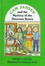 Cam Jansen: The Mystery of the Dinosaur Bones #3 by Adler, David A.