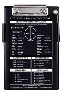 Pooleys CB-1 Pilots Kneeboard *Best Value*