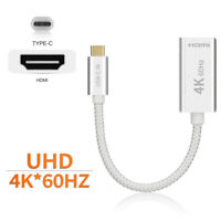 Braided USB 3.1 Type-C to HDMI Cable Adapter 4K 60hz Converter for Samsung S20