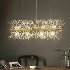 Snowflake Chandelier Nordic Style Lamp Creative Crystal Atmosphere Living Room