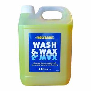 Polygard Wash & Wax Car, Caravan Motorhome 5 Litre