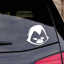 """RAVEN TEEN TITANS GO! Sticker Decal 5.5"""" Wide and looks great on the car!"""