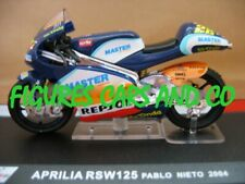 MOTO GP 1/24  SERIE 2  APRILIA RSW 125 PABLO NIETO 2004    MOTORCYCLE MOTORRAD