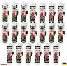 Bitumenkleber 20 x 310 ml Dachdichtstoff Bitumen Dichtmasse Schindelkleber
