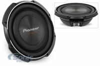 """Pioneer TS-SW2502S4 1200W RMS 10"""" TS Series Shallow Mount Single 4 ohm Subwoofer"""