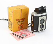 KODAK BROWNIE REFLEX SYNCHRO, USES 127 FILM, BOXED/cks/199129