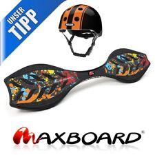 Maxboard splat ohne Helm - DAS ultimative Waveboard für's Streetsurfing original