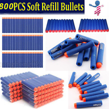 800pcs Refill Bullet Darts KIDS Gun Toy For Nerf N-strike Elite Series Blasters