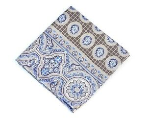 Lord R Colton Masterworks Pocket Square - Rocas Atoll Sand Gold Silk - $75 New