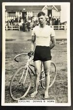 1935 J.A.Pattreiouex  Sporting Events & Stars #25 DENNIS S HORN  Cycling