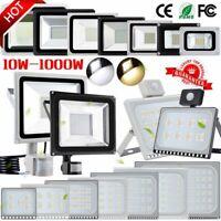 LED Fluter mit Bewegungsmelder/Stecker 10-1000W Außen Strahler Scheinwerfer IP65