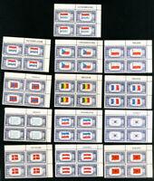 US Stamps # 909-21 VF Complete set of PBs OG NH