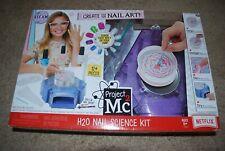NEW Project Mc2 H2O Nail Science Kit (Nail Art) RARE!