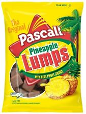 Pascall Pineapple lumps 140g NEW ZEALAND candy with real pineapple fruit juice