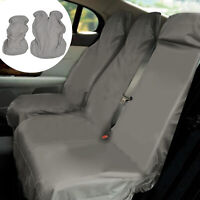 2pcs Universal Van Seat Covers Set Waterproof Heavy Duty Transit Cover Protector