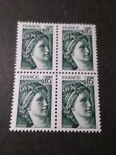 FRANCE 1978, timbre 1964, SABINE, BLOC de 4, QUARTINA, neuf**, VF MNH STAMPS