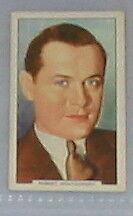 #45 - robert montgomery m.g.m star card