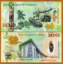 Papua New Guinea, 100 Kina, 2008, Pick 37, UNC > Commemorative Hybrid Polymer