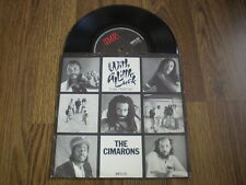 """THE CIMARONS - WITH A LITTLE LUCK 7"""" A1 B1 1982 I.M.P NEAR MINT"""