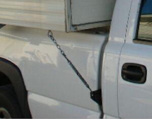 Tie Down Bracket for truck camper late 2007 to 2014 Chevrolet, GMC, Silverado