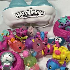 Random Hatchimal Lot Toy Collection 21 Including 2 Nest And 1 Double Case