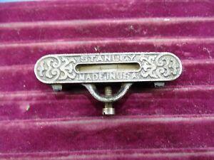 Antique Stanley cast Iron String Bubble level Nice Condition