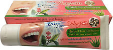100 g RASYAN HERBAL TOOTHPASTE EXTRA WHITE WITH CLOVES ALOE VERA GUAVA LEAF