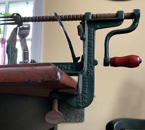 Vintage White Mountain Goodell Co Apple Parer Corer Slicer Peeler Canning Baking