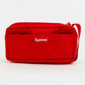 Supreme SS19 Organizer Pouch box camp cap tee logo waist shoulder backpack Bag