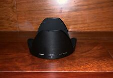 Genuine New Nikon HB-63 Bayonet Lens Hood for Nikkor 24-85mm F3.5-4.5G ED VR
