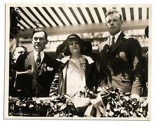 Charles Lindbergh 10'' x 8'' Semi-Matte Press Photo