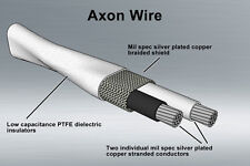 Nerve Audio Axon 24 Silver Coated Copper Bulk Audio Cable Sold By The Foot DIY
