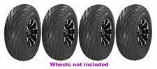(2) 27X9R14 & (2) 27X11R14 GBC Afterburn Street Force DOT ATV/UTV Sreet Tires