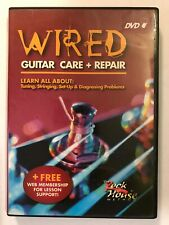 Wired: Guitar Care & Repair - DVD - Learn About Tuning, Stringing And Set Up