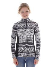 Brunotti Fleece Pullover Collar Shirt Dress Shirt Black Aquilly