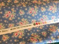 "Tilda Fabric Circus ""First Kiss Blue"" 100% cotton fabric"