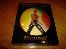 BRIAN MAY-QUEEN IN 3D-SIGNED-2017-HB-F-SEALED BOXED SET-NEW-V RARE