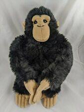 "CREAM Chimp Backpack Kiwi Chimpanzee Monkey 19/"" Stuffed Plush Animal UD1875MKC"