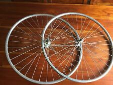 VINTAGE ROAD BIKE ALLOY WHEELSET 700c RIGIDA EXCEL 70 RIMS ON SACHS FREE HUB