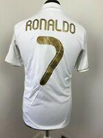 Real Madrid Home football shirt 2011 - 2012 Soccer Jersey Ronaldo 7 Size Small