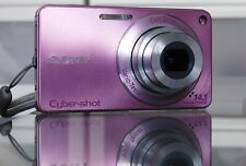 Sony Cyber-shot DSC-W350 14,1 MP Digitalkamera + 8GB - Rosa