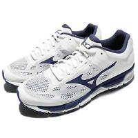 Mizuno Sport Style Synchro MX 2 White Navy Men Running Shoes Trainer J1GE17-1917
