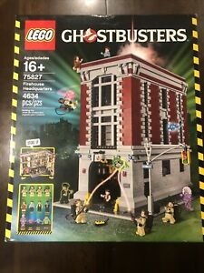 Brand New LEGO 75827 Ghostbusters: Firehouse Headquarters Factory sealed retired