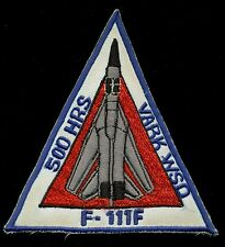 USAF F-111 F-111F 500 Hrs Vark WSO Patch S-14A