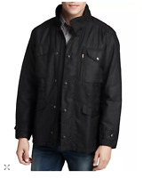 BARBOUR Men's Sapper Waxed Jacket / British Army Style in BLACK MSRP $445
