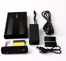 3.5 Hard Drive Disk Black Case Box USB 2.0 Enclosure HDD IDE New