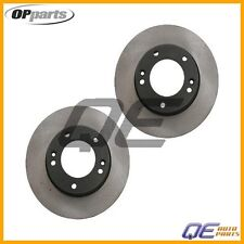 2 Front Disc Brake Rotor Opparts For: Kia Sorento 2007 2008 2009 V6