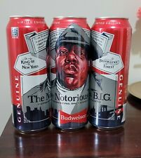 New listing 1 Limited Edition Budweiser Notorious Big can. Only Sold In Brooklyn (Biggie)