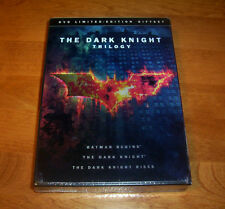 THE DARK KNIGHT TRILOGY Limited Edition Giftset BATMAN 3 DISC SPECIAL DVD SET